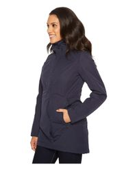 The North Face - Blue Insulated Ancha Parka Ii - Lyst