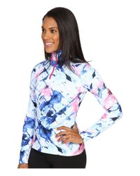 Spyder - Blue Collection T-neck Top - Lyst