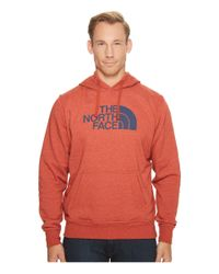 The North Face - Red Half Dome Hoodie for Men - Lyst