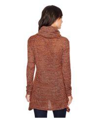 Roper - Brown 1301 Slub Sweater Jersey Top - Lyst