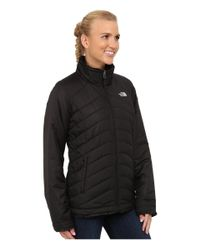 The North Face   Black Mossbud Swirl Reversible Jacket   Lyst