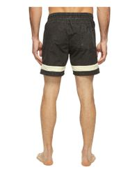 Globe - White Dion Curb Poolshorts for Men - Lyst