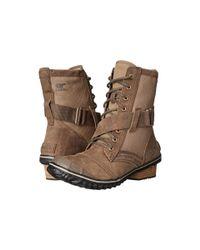 Sorel - Brown Slimboot™ Lace - Lyst