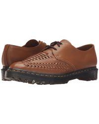 Dr. Martens - Brown Erza 3-eye Shoe for Men - Lyst