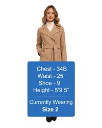 Lauren by Ralph Lauren - Natural Cashmere Blend Blanket Wrap - Lyst