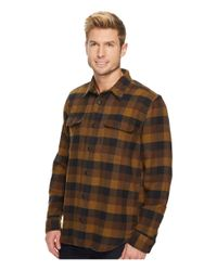 Filson - Brown Vintage Flannel Work Shirt for Men - Lyst