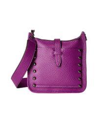 Rebecca Minkoff - Purple Mini Unlined Feed Bag - Lyst