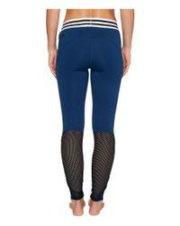 Adidas - Blue Sport Id Zipper Leggings - Lyst