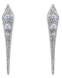 V Jewellery | Metallic Mythos Dagger Earrings | Lyst