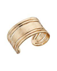 Sam Edelman | Metallic Open Metal Cuff Bracelet | Lyst
