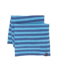 Original Penguin - Blue 'Bailey' Knit Scarf for Men - Lyst