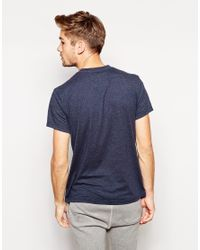 Jack Wills Blue Westmore Tshirt with Large Logo Print for men