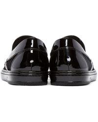 Jimmy Choo Black Bejeweled Grove Sneakers for men
