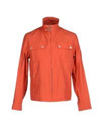 Aquascutum - Orange Jacket for Men - Lyst