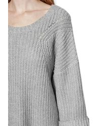 French Connection Gray Verdi Knits Rdnk Jumper