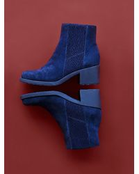 Free People | Blue Naya Womens Reviver Ankle Boot | Lyst
