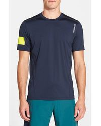 Reebok | Blue 'one Series Advantage' Playice Training T-shirt for Men | Lyst