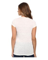 Calvin Klein Jeans | White Stud Tee | Lyst