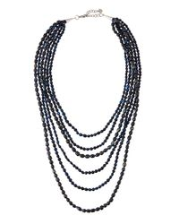 Nakamol | Multicolor Multi-strand Freshwater Pearl Necklace | Lyst