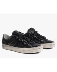 James Perse | Black Golden Goose Womens Vstar Sneaker | Lyst
