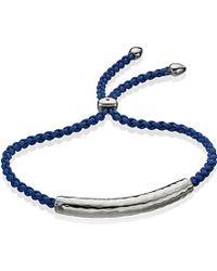 Monica Vinader | Blue Esencia Friendship Bracelet | Lyst