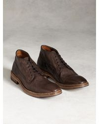 John Varvatos | Brown Fleetwood Norwegian Chukka Boot for Men | Lyst