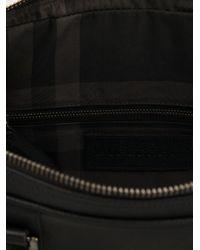 Burberry Black Grainy Briefcase for men