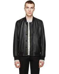 Paul Smith | Black Waterproof Hooded Jacket for Men | Lyst