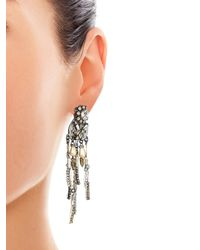 Erickson Beamon - Metallic Hunger Boho Earrings - Lyst