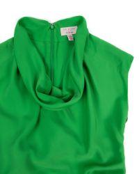 Ted Baker Green Cowl Neck Belted Dress