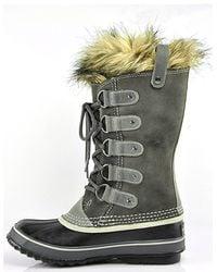 Sorel - Gray Joan Of Arctic Water-Resistant Boots - Lyst