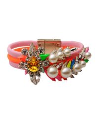Shourouk - Orange Bracelet - Lyst