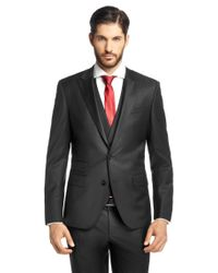BOSS Black Slim-fit Jacket In New-wool Blend: 'hold_cyl' for men