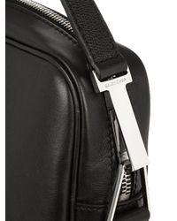 Balenciaga - Black Phileas Leather Briefcase for Men - Lyst
