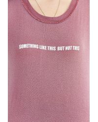 Truly Madly Deeply - Pink Like This Tee - Lyst