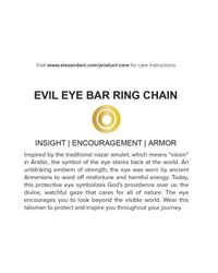 ALEX AND ANI - Metallic Precious Metals Evil Eye Bar Ring Pull Chain Bracelet - Lyst