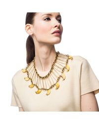 Lulu Frost - Metallic Cleo Statement Necklace - Lyst