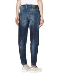 DSquared² - Blue Midnight Thunder Hockney Jeans - Lyst