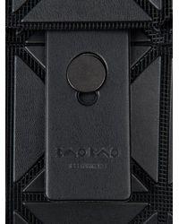 Bao Bao Issey Miyake Black Prism Messenger Bag for men