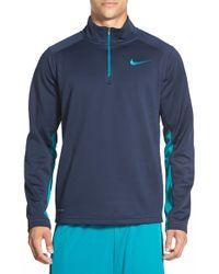 Nike - Green 'ko' Therma-fit Quarter Zip Training Jacket for Men - Lyst