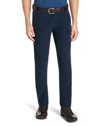 BOSS Blue 'rice-d' | Slim Fit, Stretch Corduroy Trousers for men