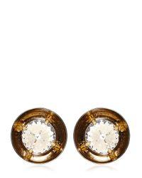 Valentina Brugnatelli Metallic Claudia Earrings