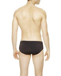 La Perla | Black Low-rise Swimming Brief for Men | Lyst