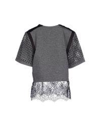 Till.da - Gray T-shirt - Lyst