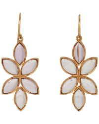 Irene Neuwirth - Multicolor Floral Drop Earrings - Lyst