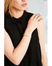 Vivienne Westwood - Kate Friendship Bracelet in Yellow - Lyst
