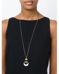 Isabel Marant | Natural Circular Pendant Necklace | Lyst