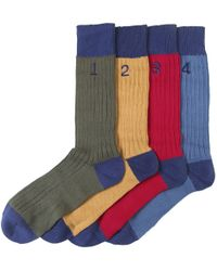Hackett | Multicolor Numbered Sock Box Set for Men | Lyst