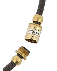 Miansai | Black Charcoal Double Wrap Rope Bracelet for Men | Lyst