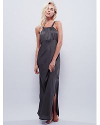 Free People | Gray Intimately Womens Simply Sensual Slip | Lyst